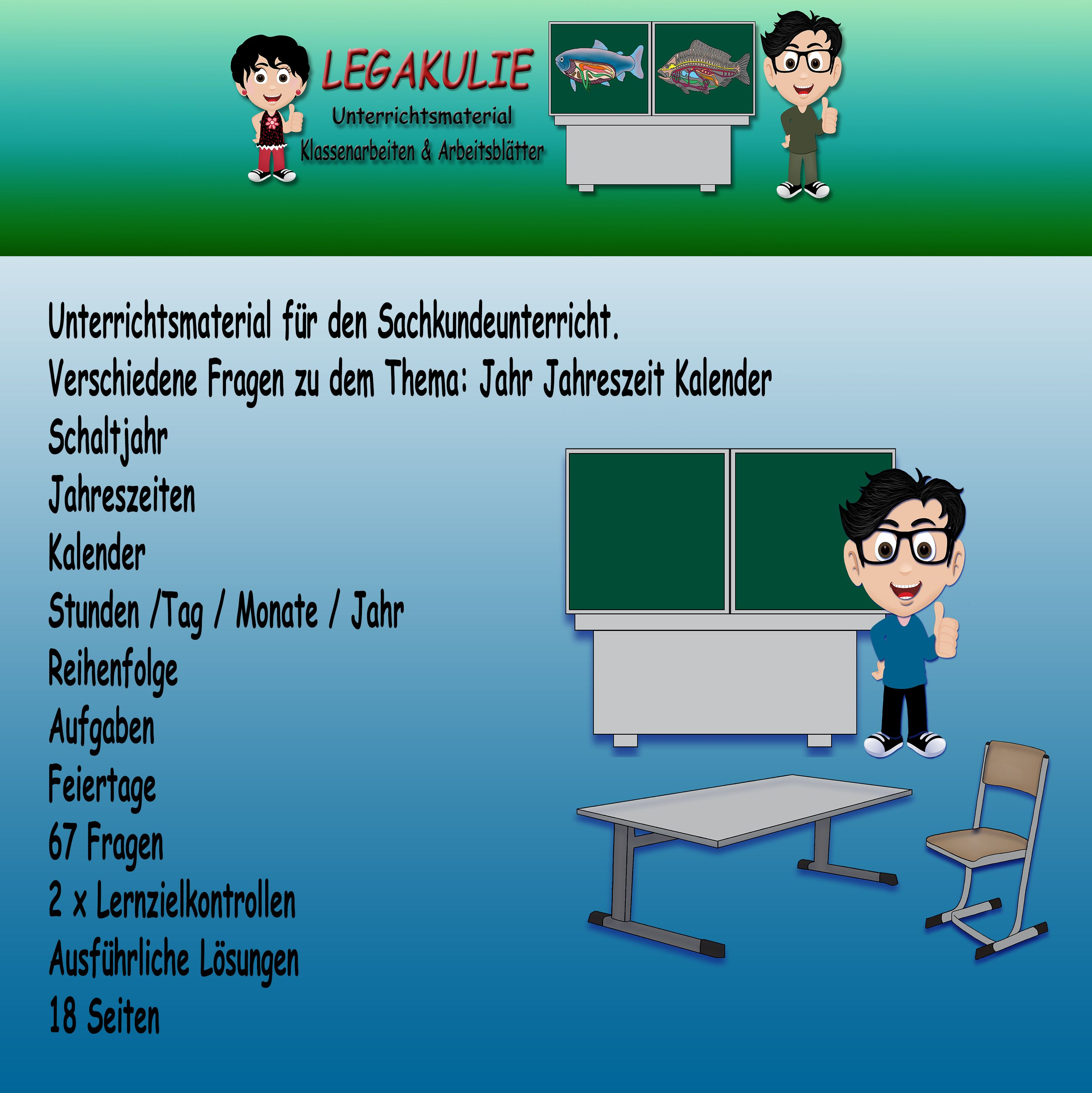 HSU Kalender | Pinterest | Jahres kalender, Klassenarbeiten und ...