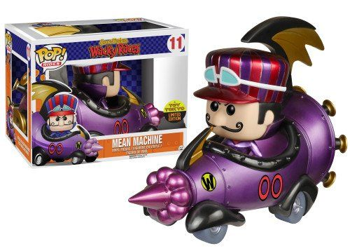Funko Pop Rides 11 Wacky Races Metallic Mean Machine Sdcc 2015 Tot Tokyo Exclusive Price Free Shipping Funko Pop Collection Funko Pop Funko