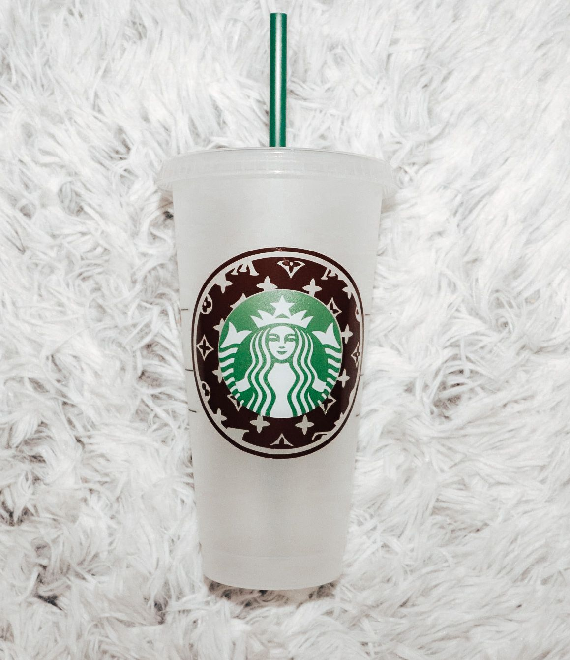 Louis Vuitton Starbucks Cup in 2020 Starbucks coffee cup