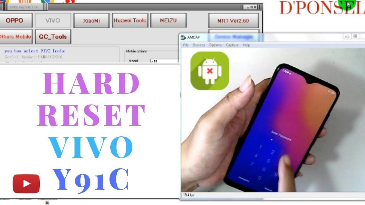 Vivo Y91c Vivo 1820 Remove Pin Lock Unlock Frp One Click