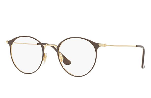 3c22368498 Ray-Ban 0RX6378-RB6378 Brown  Gold OPTICAL
