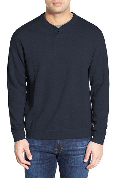 Tommy Bahama 'Flip Side Abaco' Reversible Twill Pullover