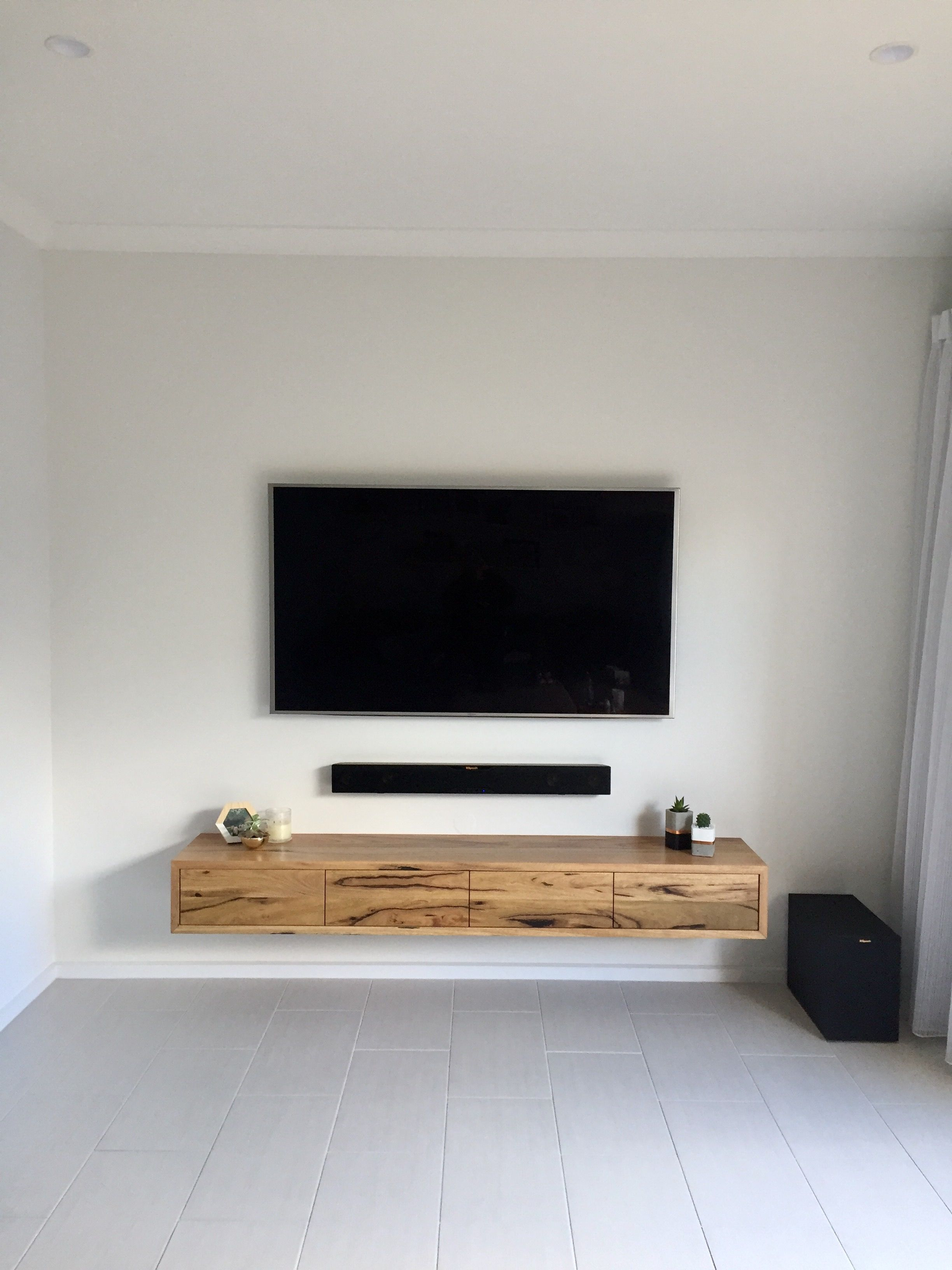 Collie Floating Tv Unit In 2020 Living Room Tv Floating
