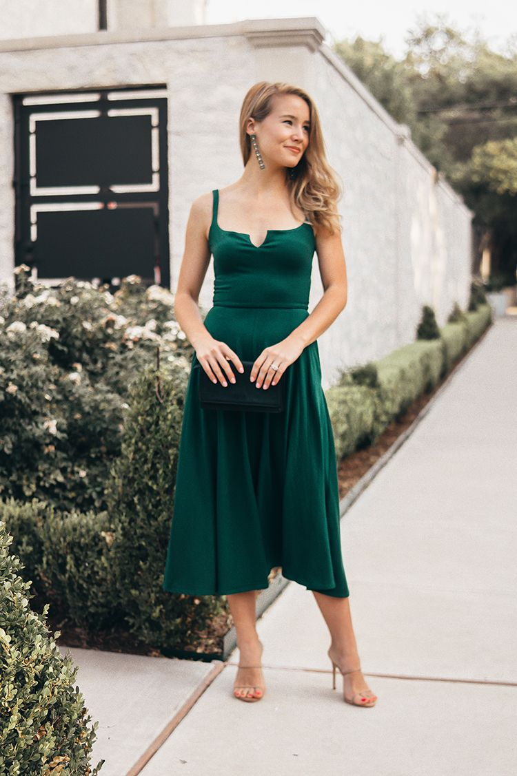 Best Dressed Wedding Guest A Lonestar State Of Southern Dresses Fall Wedding Guest Dress Nice Dresses [ 1127 x 750 Pixel ]