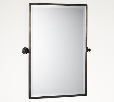 Kensington Pivot Mirror Extra Large Rectangle Antique