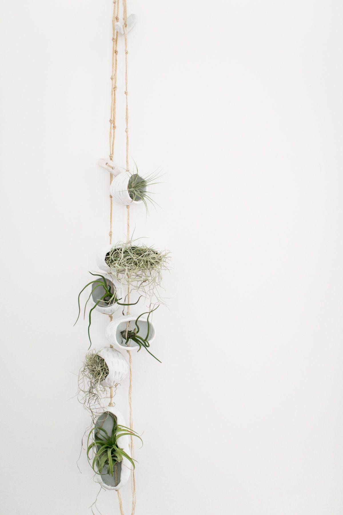 Knotwork LA — Porcelain Hanging Air Planters