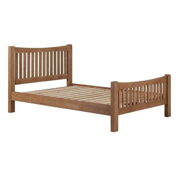 Wexford Oak 6 Bedframe Furniture Factory Clearance Centre Perth In 2020 Oak Bed Frame White Wooden Bed Oak Beds