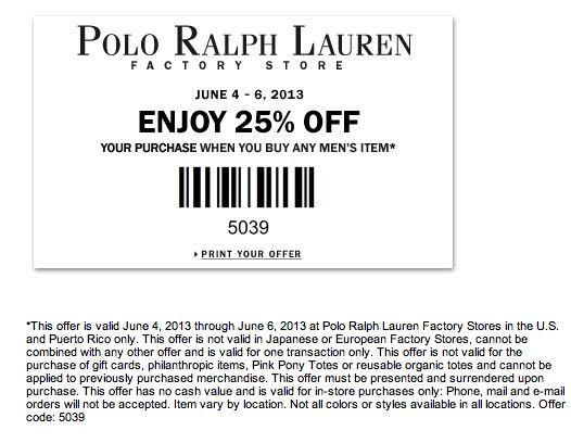 Related to Ralph Lauren