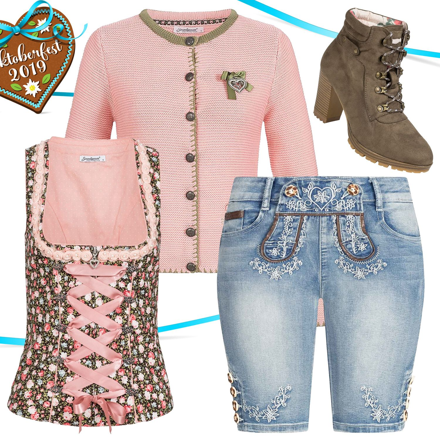 Oktoberfest outfit for only € 130.96