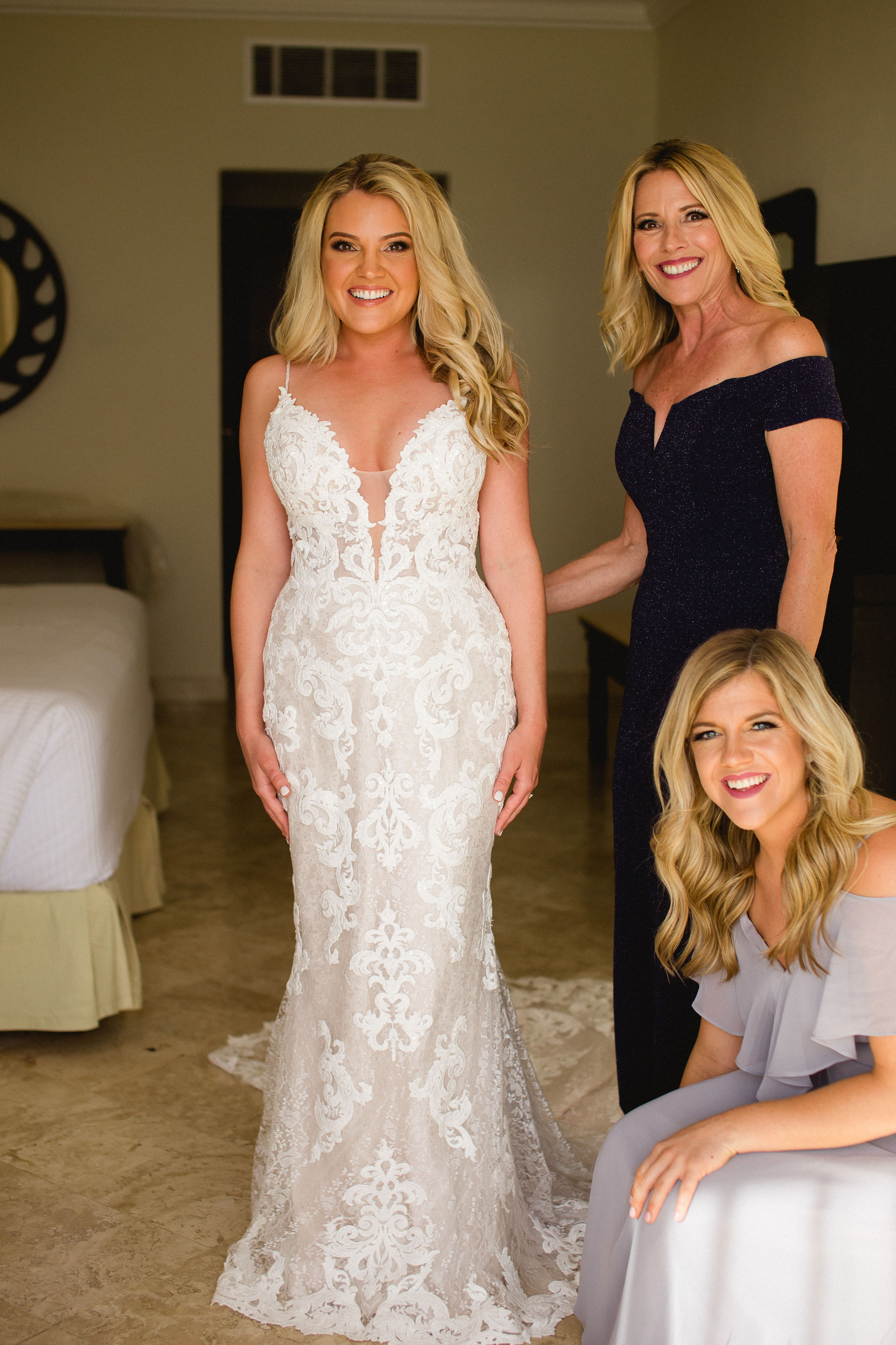 9cf1b7f635a1 Real bride, Megan Renfroe looking amazing in the TUSCANY LYNETTE wedding  dress by Maggie Sottero! A heart-stopping romantic sheath bridal gown with  sexy ...