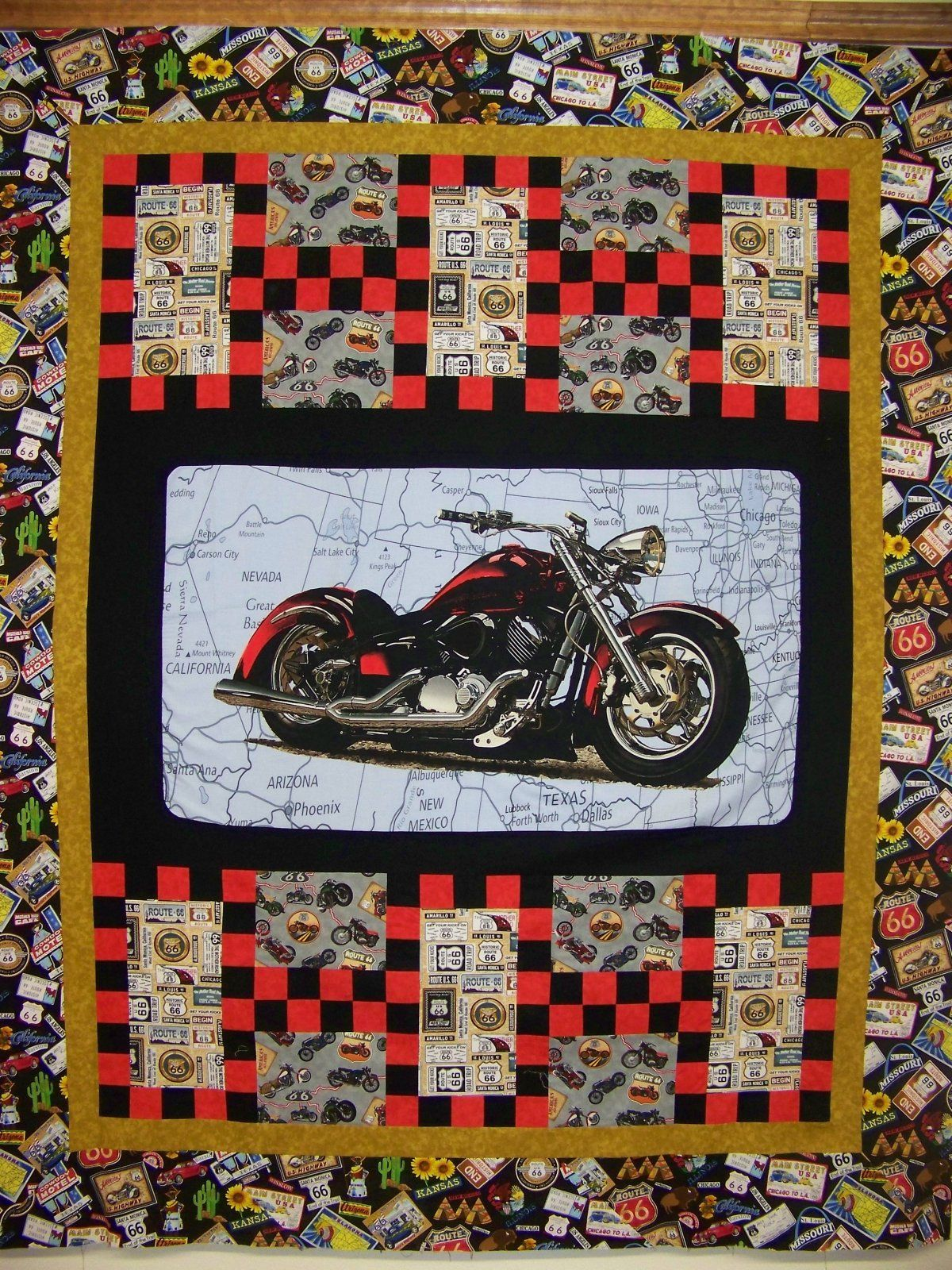 Route 66 Quilt Kit | Country Living Quilts we Love | Pinterest ... : quilts kits - Adamdwight.com