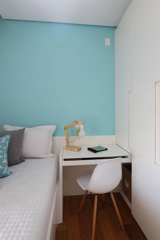 Dormitório (de Duda Senna Arquitetura e Decoração)