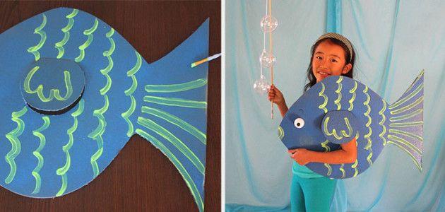 Disfraces de animales para niños: pez #Carnaval #disfraces #DIY ...