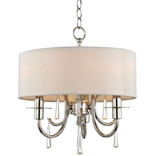 Found it at wayfair fayette 3 light crystal drum chandelier