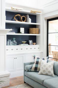 Open Floor Plan Living Room Flow  Studio Mcgee  Google Search Simple Living Room Built Ins Inspiration