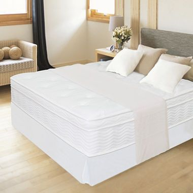 Zinus Night Therapy Icoil 12 Quot Euro Box Top Spring Mattress