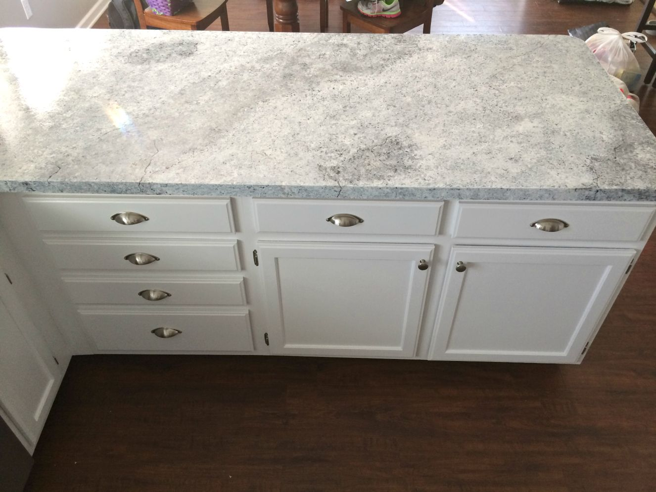Painted Marble Countertops Countertop Redo With Giani Granite Countertop Paint Home Ideas