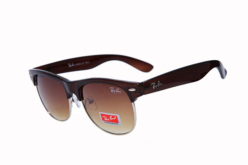 30281fea46 ... discount code for ray ban clubmaster classic rb3016 brown sunglasses  1a390 877fe