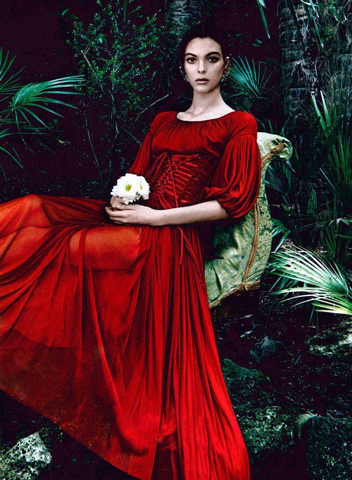 9fac5cfe Dolce & Gabbana Red Dress | Fashion | Fashion, Red fashion und Dresses