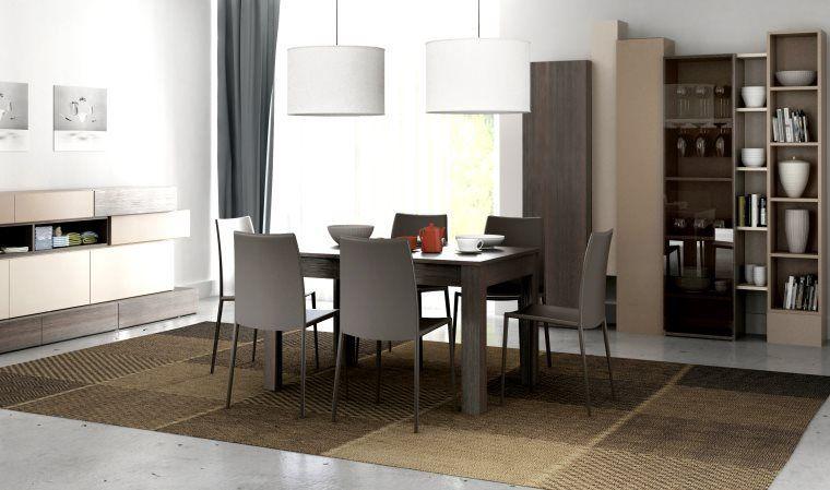 Table salle manger extensible hifi salle manger for Table salle a manger extensible 12 couverts