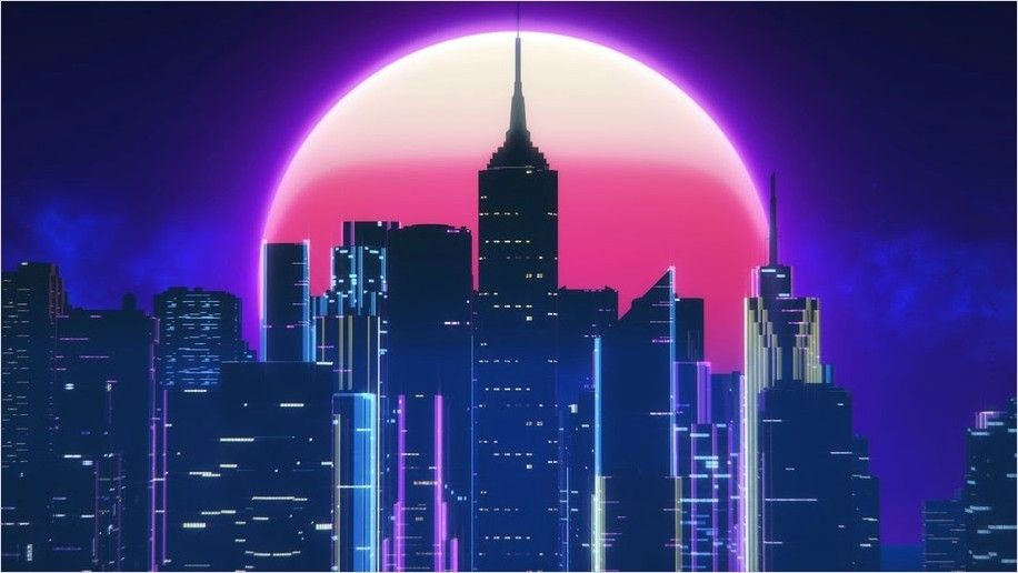 Neon City Wallpaper 4k In 2020 City Wallpaper Vaporwave Wallpaper Synthwave