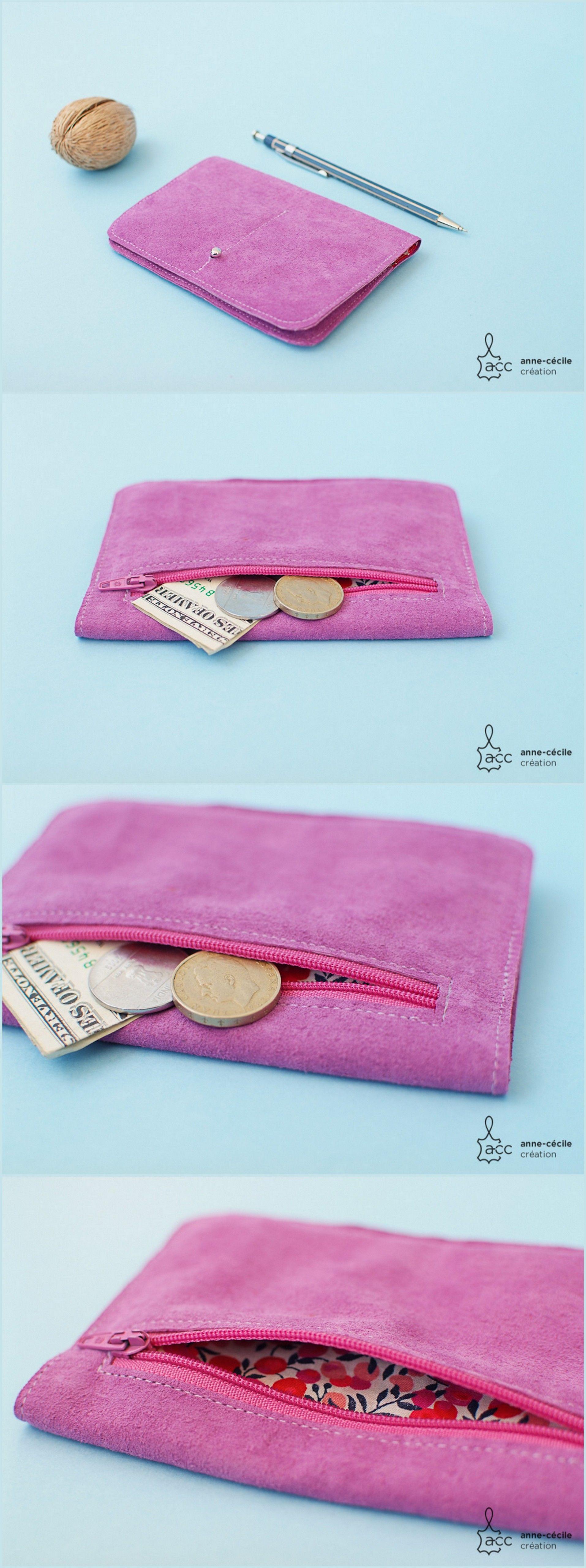portefeuille porte monnaie cuir femme tout