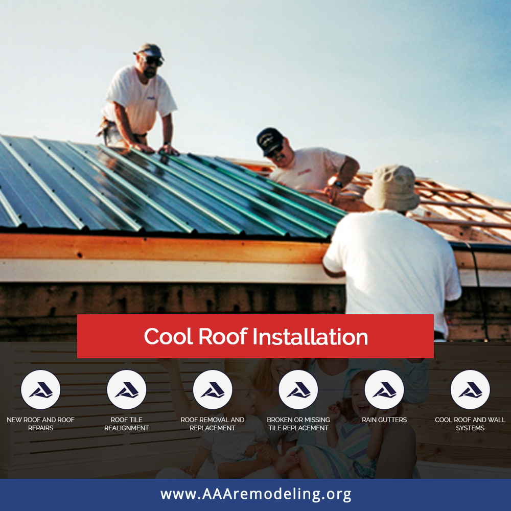 Cool Roof Installation New Roof And Roof Repairs Roof Tile Replacement Roof Removal And Replacement Broken Or Miss Roof Installation Cool Roof Roof Repair