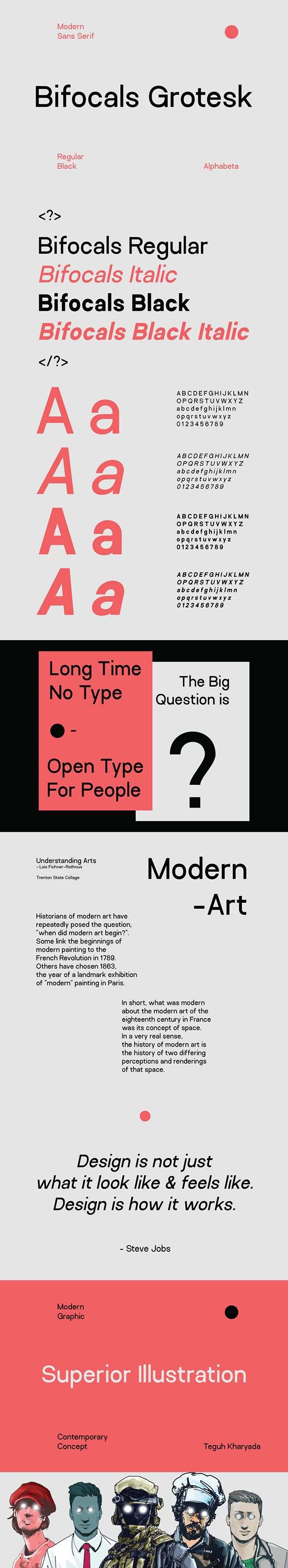Download BIFOCALS GROTESK - FREE FONT FAMILY on Behance (With images)