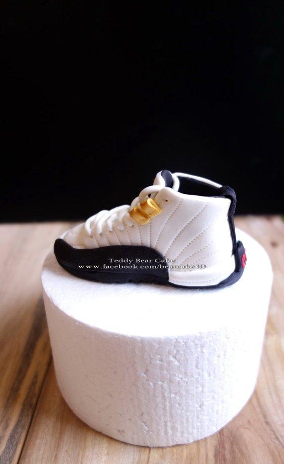 Air Jordan Shoe Personalized Cake Topper Centerpieces Party Supplies