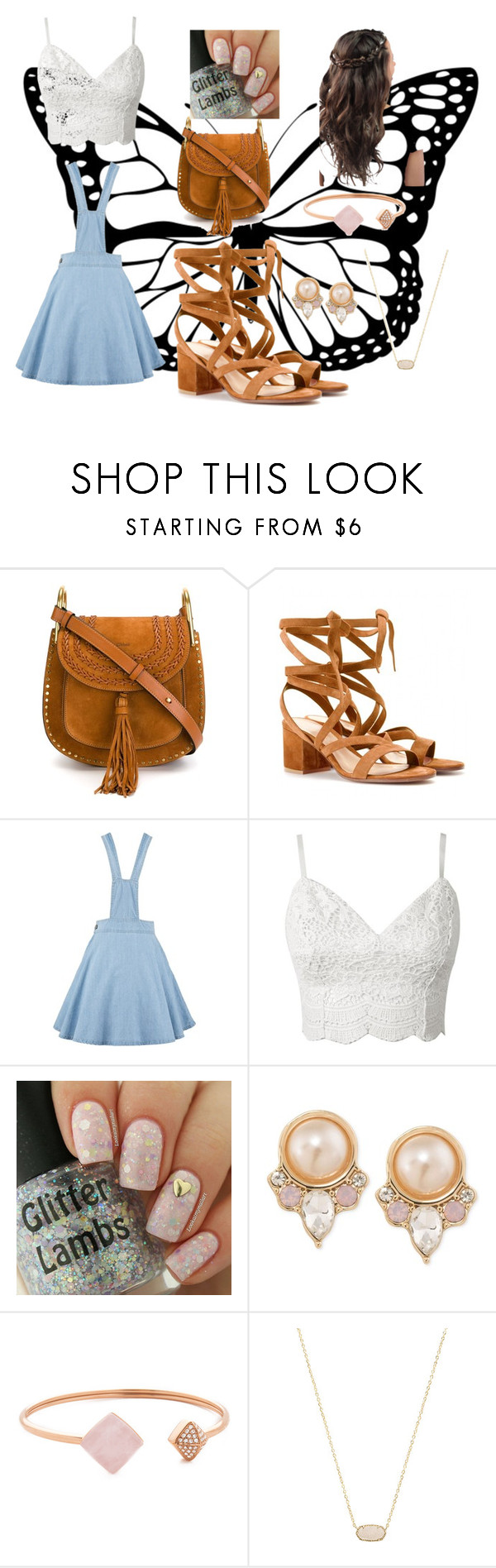 """""""Casual Day Look"""" by jadine-naiker on Polyvore featuring Chloé, Gianvito Rossi, Carolee, Michael Kors and Kendra Scott"""