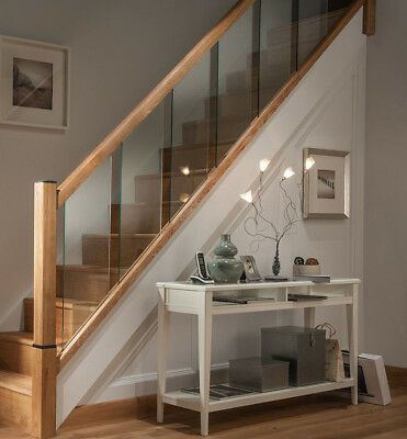 Best Details About Glass Reflections Glass And Oak Rails 400 x 300