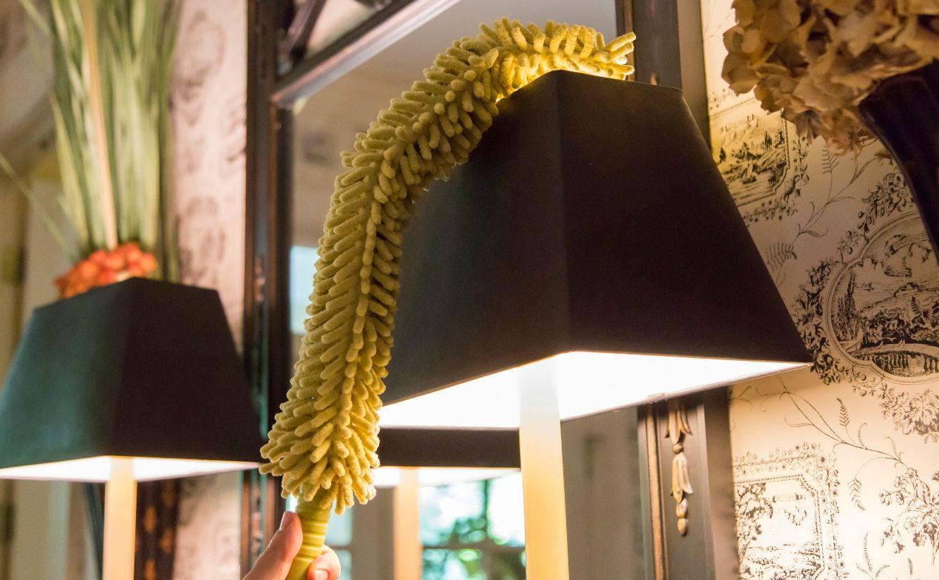 Docapole Microfiber Flex And Stay Ceiling Fan Duster Ceiling Fan Cleaning Surface Flex