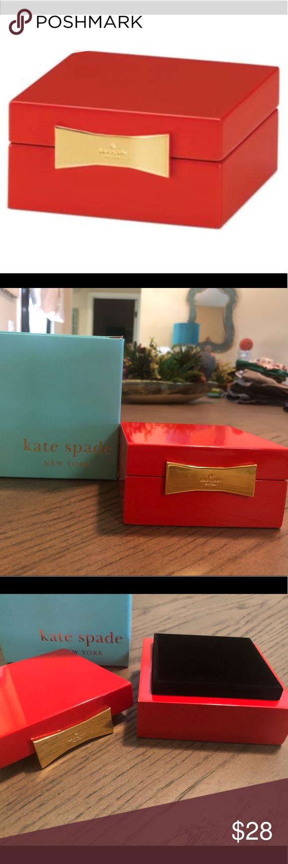 Kate Spade Garden Drive Red Jewelry Box Red Jewelry Red Jewelry Box