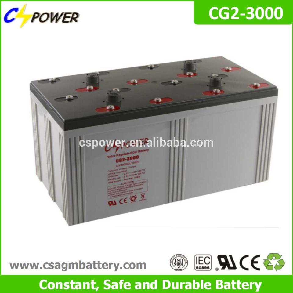 2v 3000ah Solar Battery Price Solar Power Plant Charge Battery