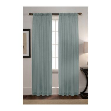 Comfort Bay Curtain Teddy Panel Mineral 54 Quot X 84 Quot