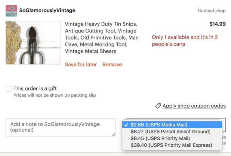 Etsy Shipping Tips How To Reduce Your Shipping Costs Etsy