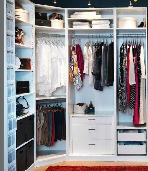 Cabine armadio - Cabina armadio ad angolo IKEA | Closet | Pinterest ...