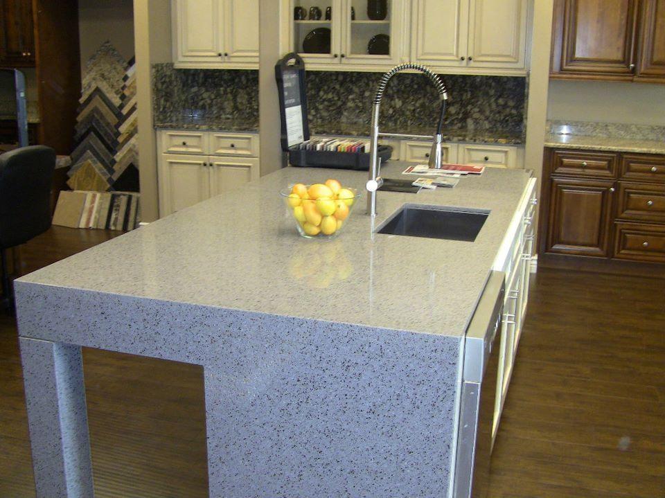 Encimera de cocina en silestone white platinum contactanos ventas - Encimera cocina granito ...