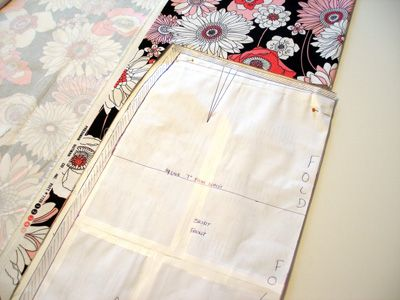 The skirt pattern, ease and seam allowances - How to Sew A Skirt ...
