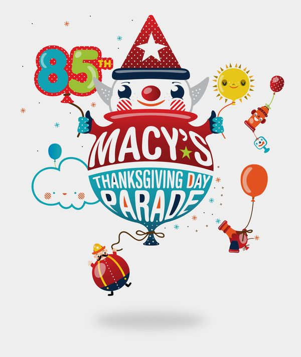 Macy S Thanksgiving Day Parade Logo By Chad Olson Via Behance Thanksgiving Day Parade Macy S Thanksgiving Day Parade Thanksgiving Day