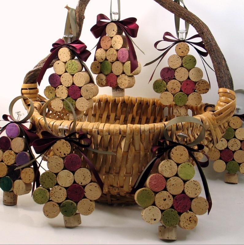 En esta primera entrega les presento una diversidad de for Cesta arbol navidad