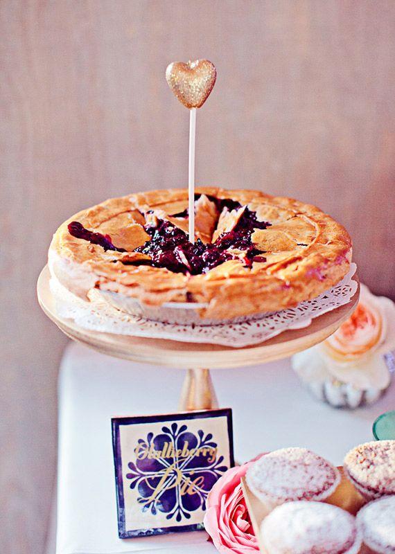 Pie dessert table {via 100 Layer Cake}