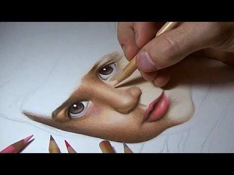 HOW TO DRAW A FACE WITH COLOR PENCILS - PART 1 #howtodrawface #howtodraw #drawing #art #pencildrawingtutorials