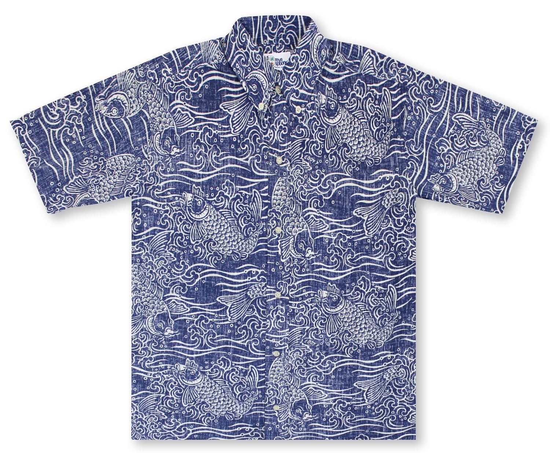 a6901d8cb Reyn Spooner Vintage Koi | Aloha Shirts | Pinterest