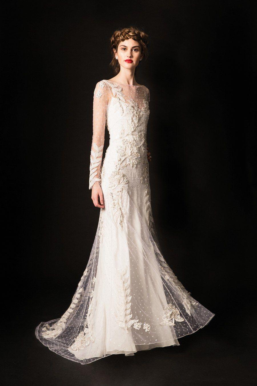 738a333d2c0 Temperley London Bridal Spring 2020 Fashion Show in 2019