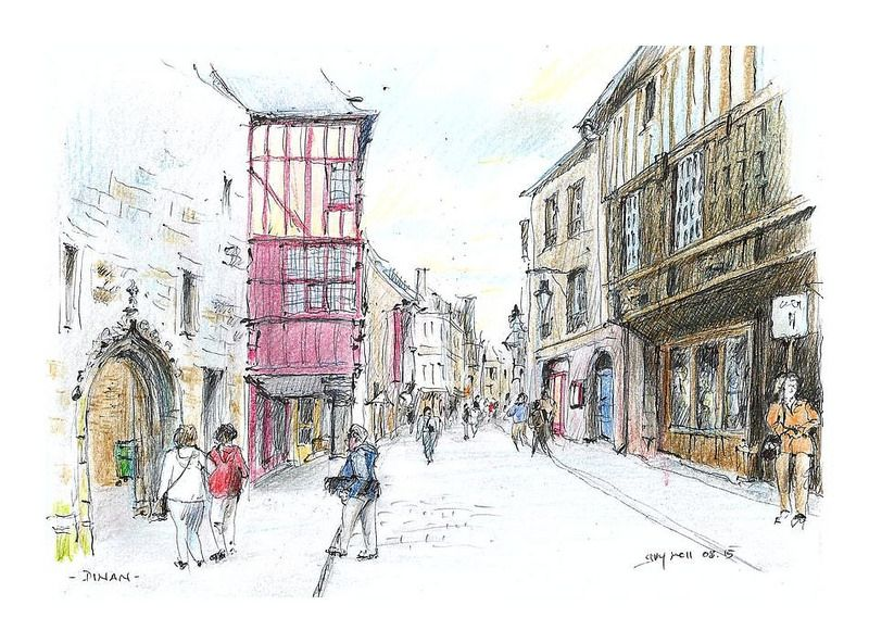 Dinan - Bretagne - France France is truly one of the most geographically diversified countries found in Europe. Its cities…