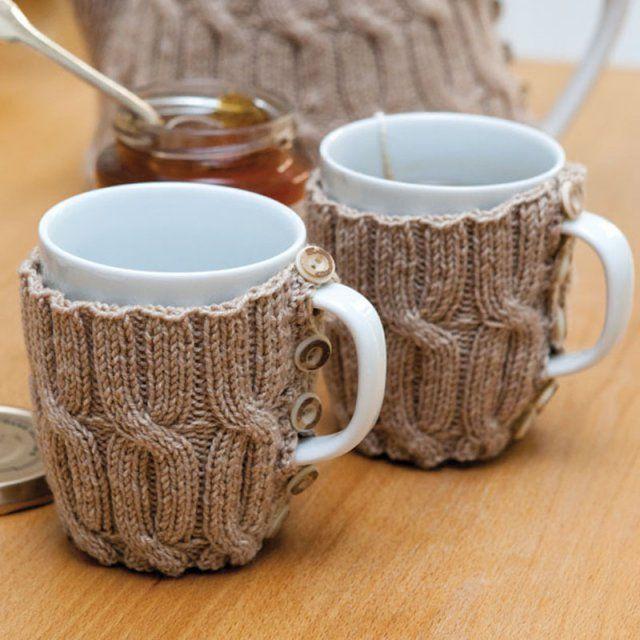 20 id es pour customiser un mug d co for the home pinterest tricoter laine et tricot. Black Bedroom Furniture Sets. Home Design Ideas