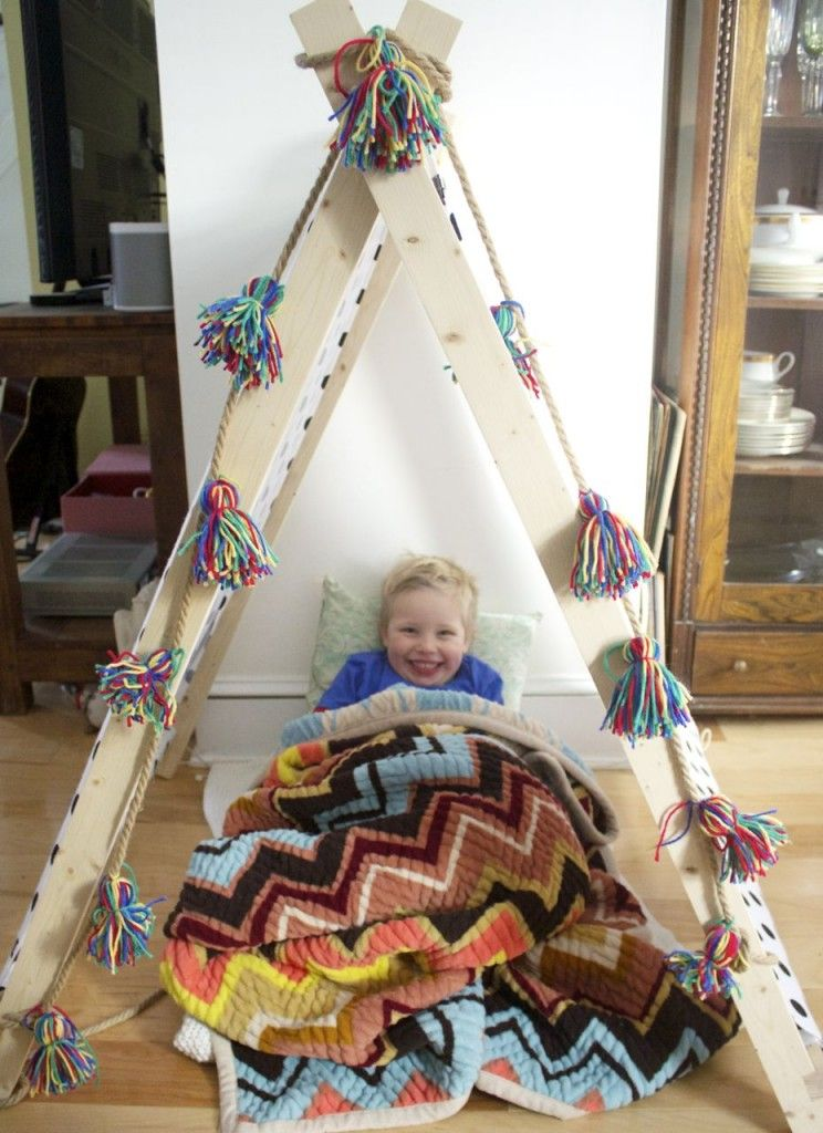 Make Your Own Tent (With Tassels Diy tent, Ramshackle