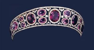 Queen Mary's Amethyst Tiara