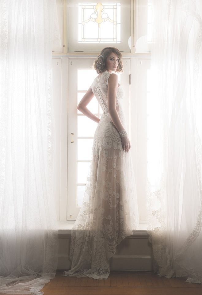 Cheyenne Lace Wedding Dress From Romantique By Claire Pettibone Https Clairepettibone